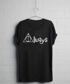 Always Deathly Hallows Unisex T Shirt