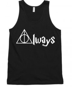 Always Deathly Hallows Unisex Tank Top