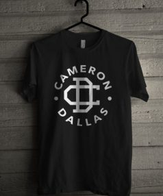 Cameron Dallas Black Unisex T Shirt