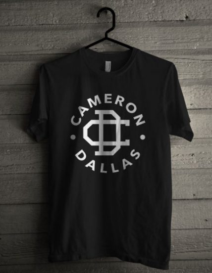 Cameron Dallas Black Unisex T Shirt