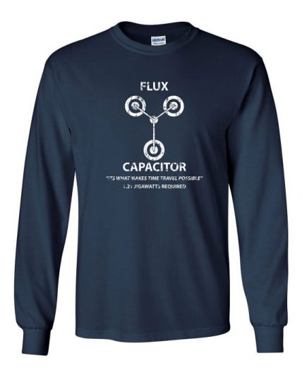 Flux Capacitor time travel funny 80s Unisex Sweatshirt