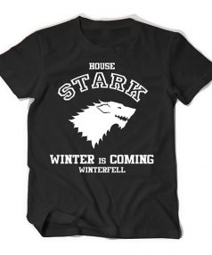 Game of thrones House Stark Winter is Coming Unisex T Shirt