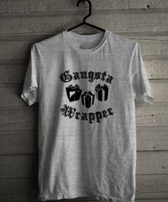 Gangsta Wrapper Unisex T Shirt