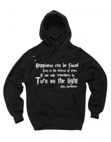 Happiness Harry Potter quotes Unisex Adult Hoodie