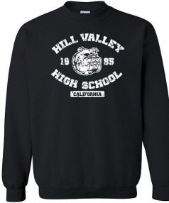 Hill Valley High School bulldog Unisex Sweatshirt