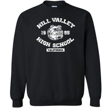 Hill Valley High School bulldog Unisex Sweatshirt