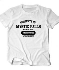 Mystic Falls High Vampire Diaries Unisex T Shirt