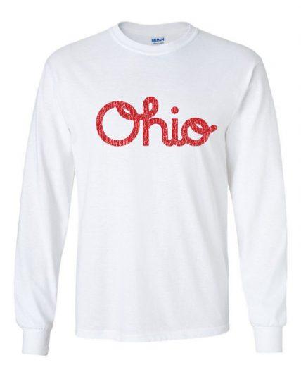 Ohio script funny spirit pride Unisex Sweatshirt