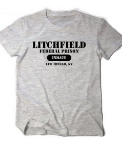 Orange is the new black Litchfield federal prison inmate Unisex T Shirt