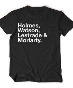 Sherlock Cast TV Unisex T Shirt
