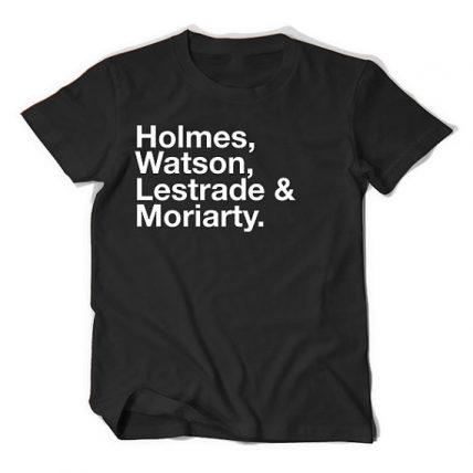 Sherlock Cast TV Unisex T Shirt