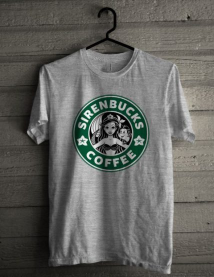 Sirenbucks Coffee Unisex T Shirt