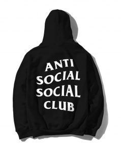 Anti Social Social Club Unisex Adult Hoodie