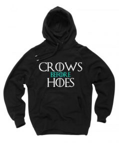 Crows Before House 2 Unisex Adult Hoodie