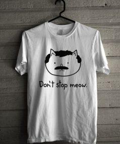 80s Cat Meow Unisex T Shirt