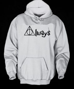 Always Deathly Hallows Harry Potter Unisex Adult Hoodie