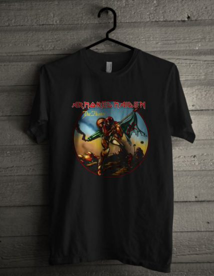 Armored Maiden Unisex T Shirt