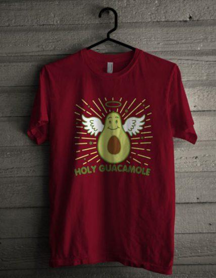 Avocado Angel Unisex T Shirt