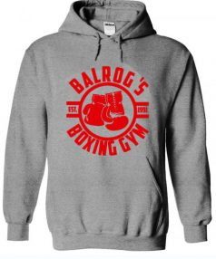 Balrog's Boxing Gym Unisex Adult Hoodie