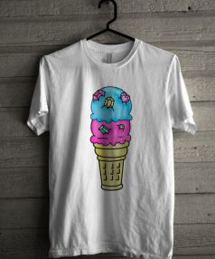 Bejeweled Ice Cream Cone Unisex T Shirt