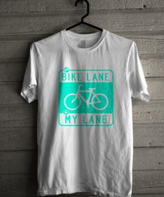 Bike Lane Unisex T Shirt