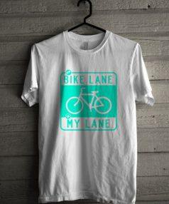 Bike Lane Unisex T Shirt