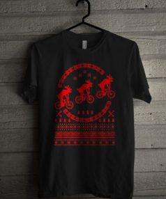 Bikes Ugly Christmas Unisex T Shirt