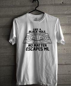 Black Hole Unisex T Shirt