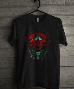 Black as Midnight Black as Pitch Unisex T Shirt