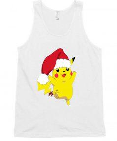 Christmas Pikachu Unisex Tank Top