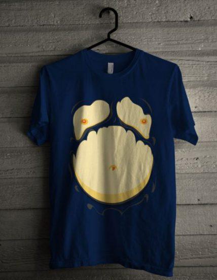 Comic Fat Belly Unisex T Shirt