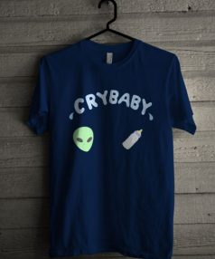 Cry baby Alien Unisex T Shirt