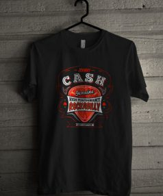 Johnny Cash Rockabilly Unisex T Shirt