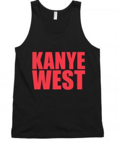 Kanye West Red Unisex Tank Top