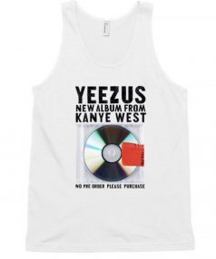 Kanye West's Sixth Solo album Unisex Tank Top