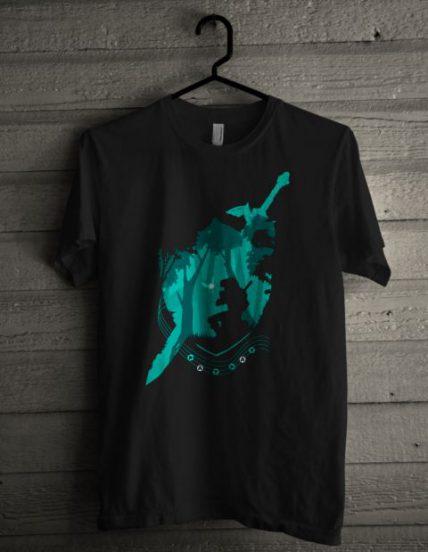 Legend of Zelda Ocarina of Time Unisex T Shirt