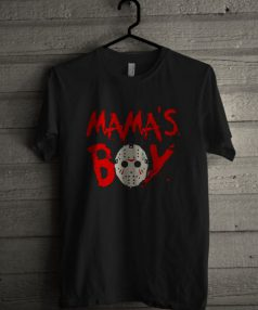 Mama's Boy Jason Unisex T Shirt