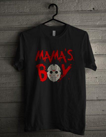 Mama's Boy Jason Unisex T Shirt