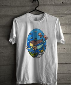 Mermaid Blue Unisex T Shirt