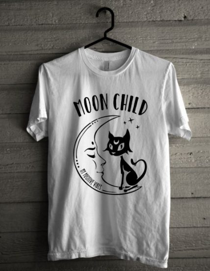 Moon Child Grunge Unisex T Shirt