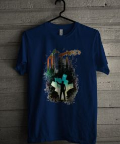Paint Art City Unisex T Shirt