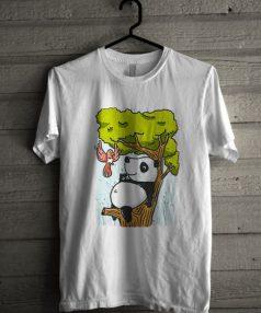 Relax Panda Unisex T Shirt