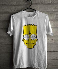 Simpson Cartoon Unisex T Shirt