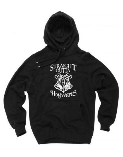Straight outta Hogwarts Unisex Adult Hoodie