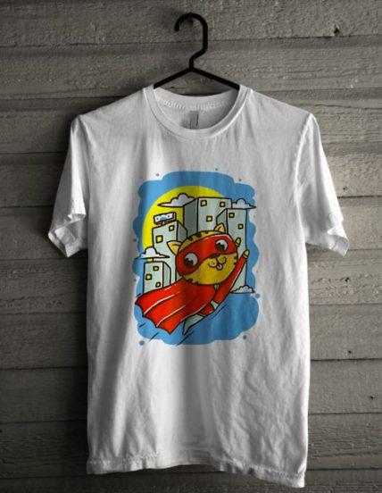 Super Cat Unisex T Shirt