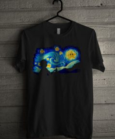 Super Starry Night Unisex T Shirt
