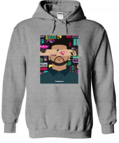 The Weeknd - Kiss Land Tour Unisex Adult Hoodie