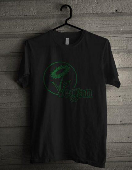 Vegan Flower Unisex T Shirt