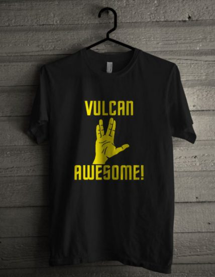 Vulcan Awesome Unisex T Shirt