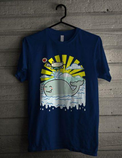 Whale Sea Unisex T Shirt